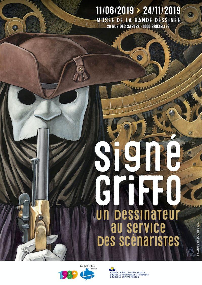 Signé Griffo - Un dessinateur au service des scénaristes