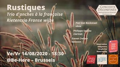 Rustiques - trio d'anches à la française