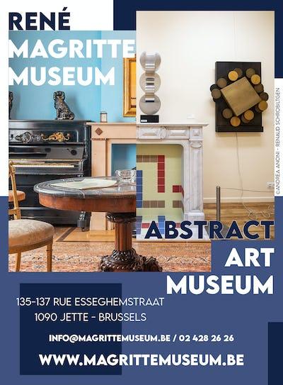 Visites guidées VIP chez René Magritte & les Abstraits belges