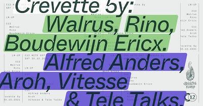 C12 • Nite 007: 5 years Crevette Records