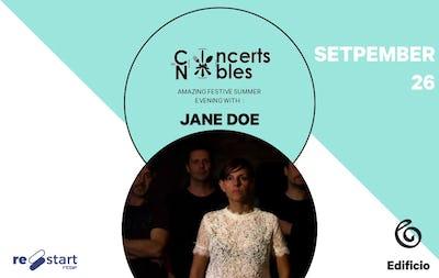 Les Concerts Nobles – Jane Doe & Artfood