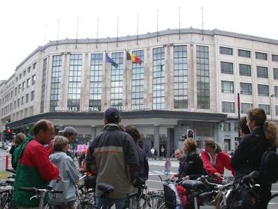 Victor Horta à vélo