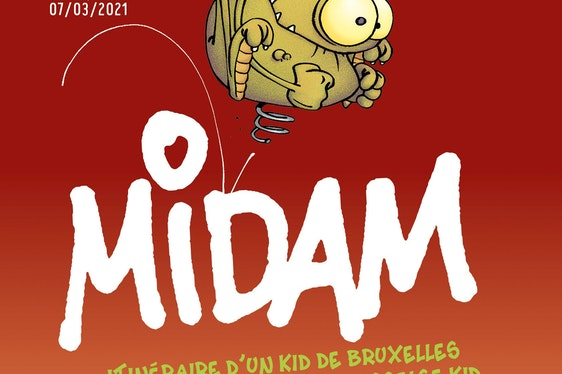 Midam, itinéraire de Kid de Bruxelles