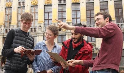 Jeu de Piste Escape The City - Le Secret du Manneken Pis Escape Prod Bruxelles 2018