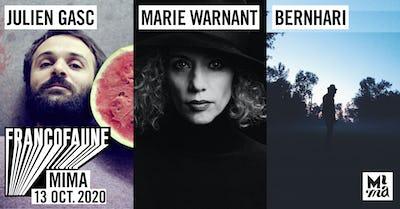 Julien Gasc • Marie Warnant • Bernhari l FrancoFaune 2020