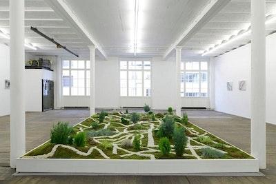 Xu Zhen, Movement Field, installation view, Waldburger Wouters, 2015