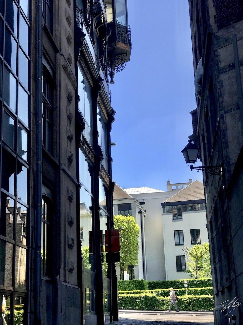 Itinéraire des impasses à Bruxelles