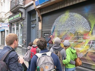 Visite guidée graffiti et street art