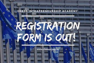 Projet Erasmus Plus - CHESS Intrapreneurship Academy (training en ligne, gratuit et certifié)
