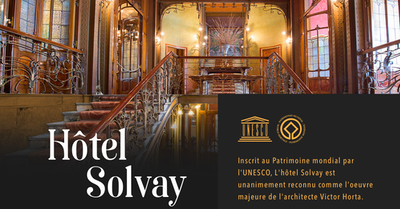 Visite privatisée Hôtel Solvay