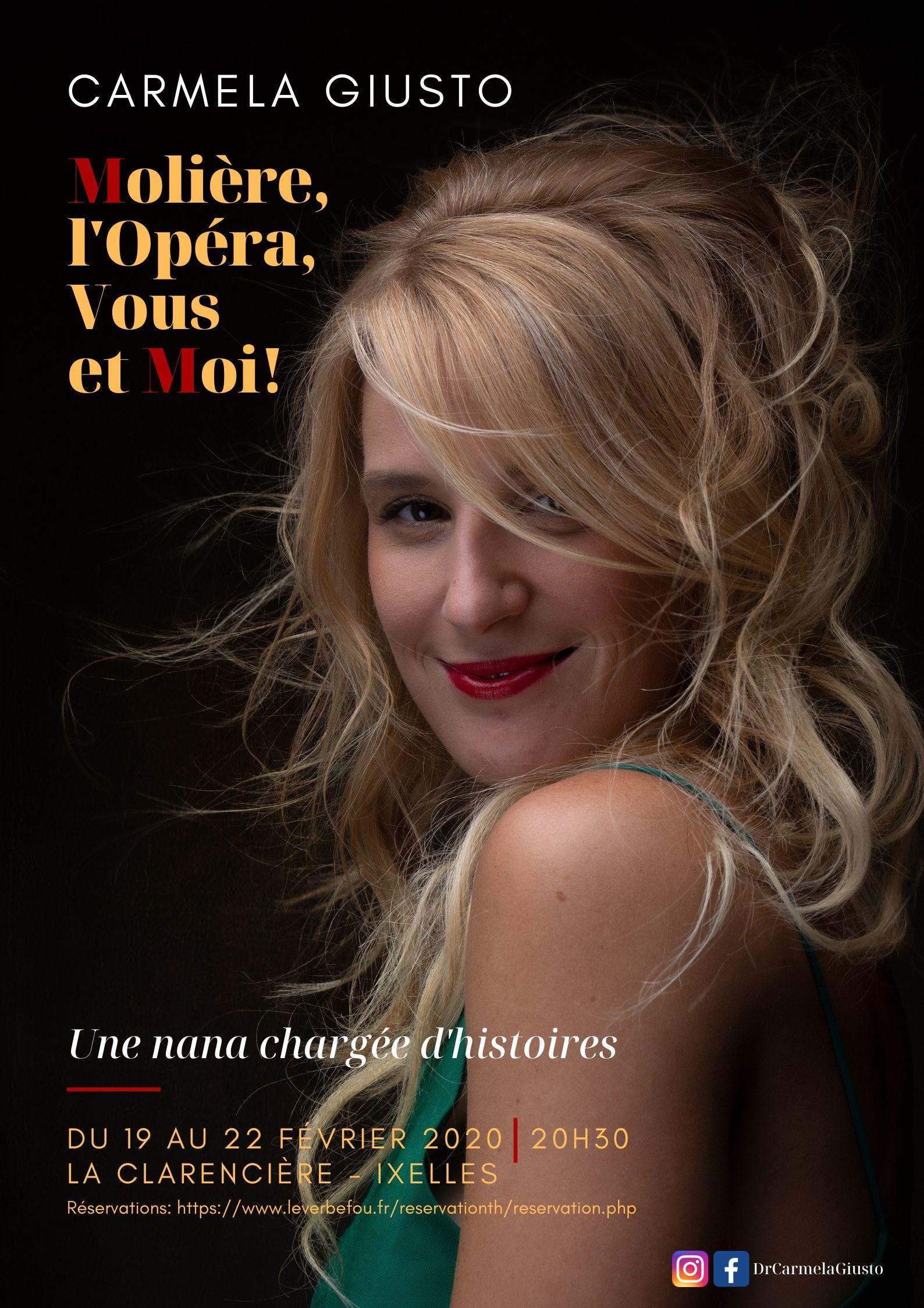 Molière, l'Opéra, Vous et Moi !