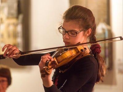 Concerts Solidary - Récital de violon Pauline Van der Rest