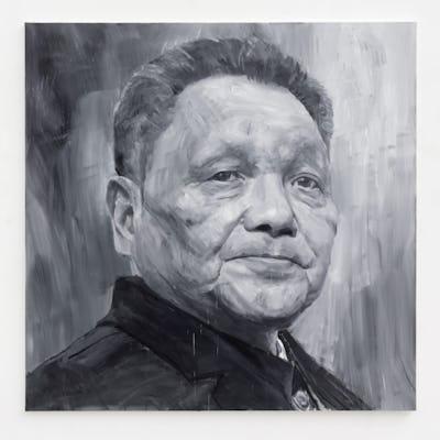 Yan-Pei Ming Deng Xiaoping (1904-1997) , 2021 © Clérin Morin