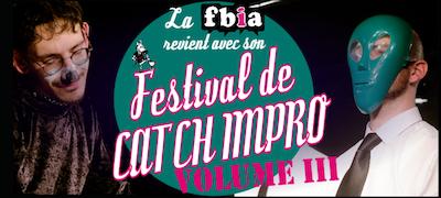 Festival de Catch Impro - Volume III