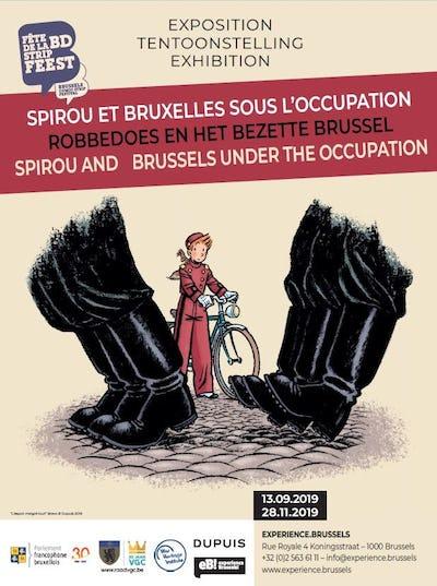 Spirou et Bruxelles sous l'Occupation