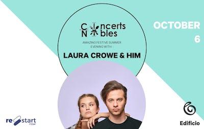 Les Concerts Nobles – Laura Crowe & Him