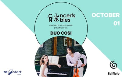 Les Concerts Nobles – Duo Cosi