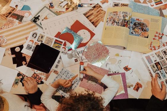 Copier, coller, recycler. Le design pour les petits et les grands.