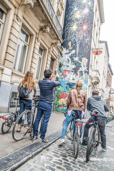 A la découverte des nouvelles fresques bruxelloises à vélo