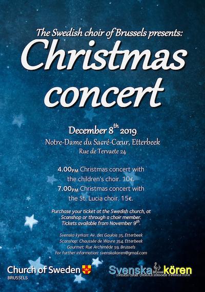 Concert de Noel Suédois