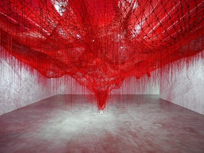 Chiharu Shiota - Me Somewhere Else