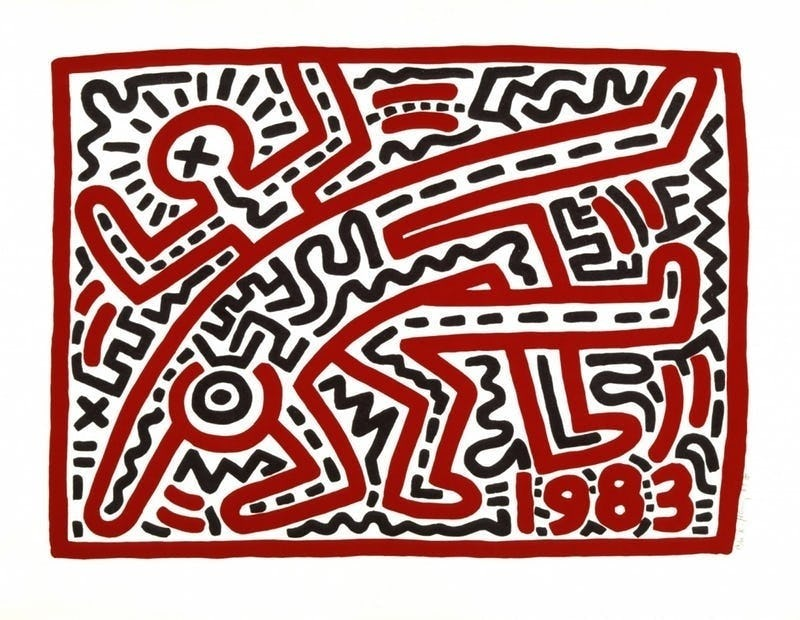 Lunch Tour Keith Haring
