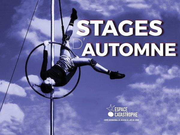 Stages d'Automne  Espace Catastrophe