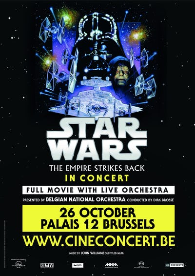 Star Wars The Empire Strikes Back In Concert
