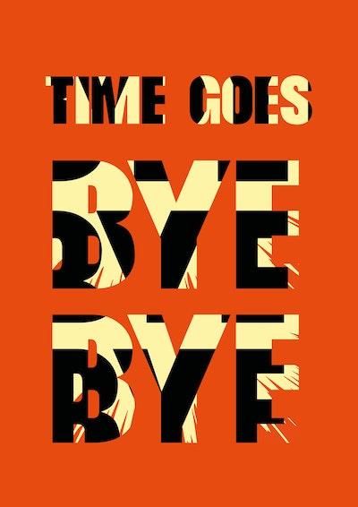 Time Goes Byebye Nick Mattan