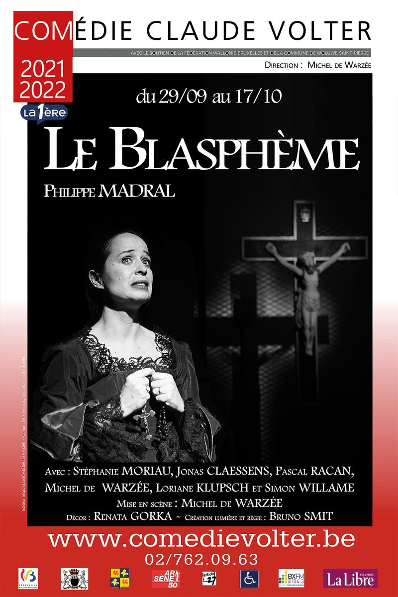 """""""Le Blasphème"""" de Philippe Madral"""