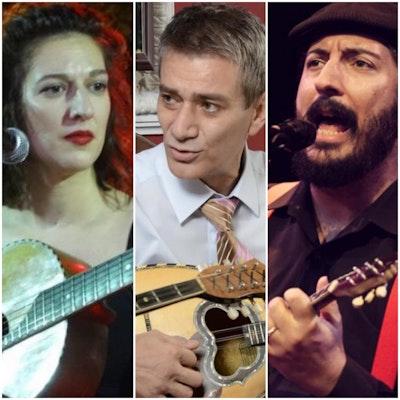 Rebetiko Night: Ainitis, Papatragiannis, Lambiri