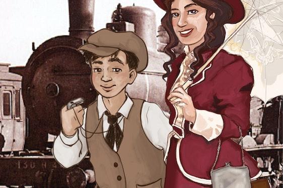 """Stage pour enfants """"Voyage à la Belle Epoque"""""""