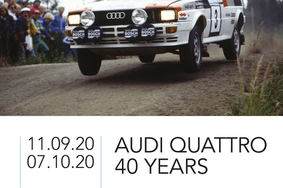 Audi Quattro - 40 Years