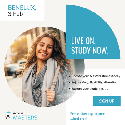 Access Masters Online in Belgium and Luxembourg!