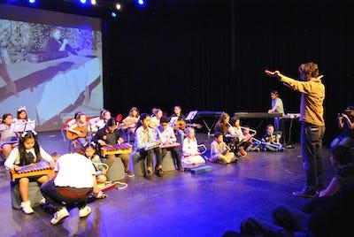 Klankkleuren - muziekatelier voor kinderen op zaterdagochtend