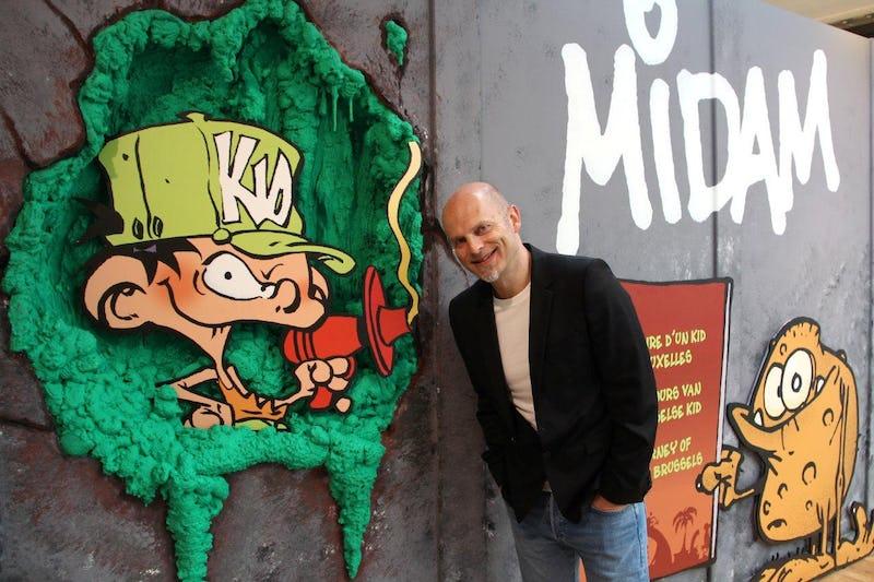 Midam, itinéraire de Kid de Bruxelles Daniel Fouss / BSC