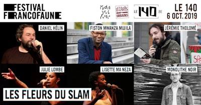 Soirée de la Poésie - Les Fleurs du Slam | FrancoFaune 2019