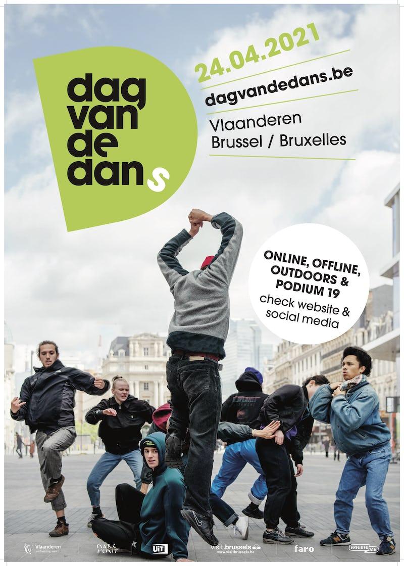 Journée de la Danse Sien Verstraeten, P.A.R.T.S., Chris Lauwrys, Dag van de Dans