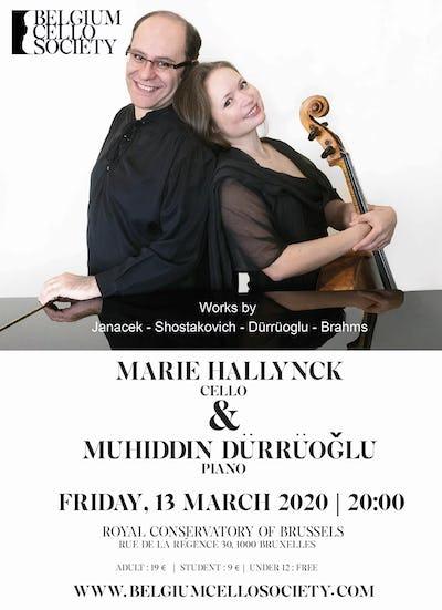Violoncelliste Marie Hallynck joue pour la Belgium Cello Society