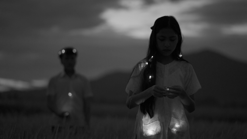 Thao Nguyen Phan - 'Monsoon Melody' Thao Nguyen Phan, video stills from Mute Grain, 2019. Three channel video installation, 15:45 mins, loop, black and white