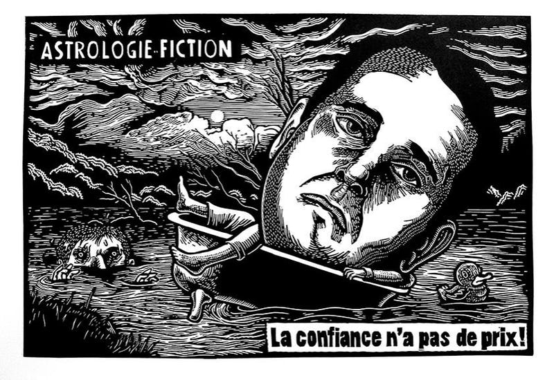 """Nope"" - Sylvain Bureau"