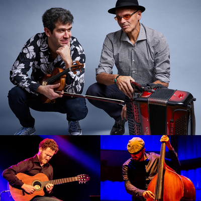 "Gabriel Bismut & Maurizio Minardi Quartet presents ""Le Chat Brel"""