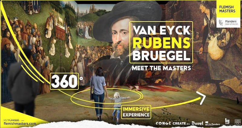 MEET THE MASTERS: van Eyck, Bruegel, Rubens