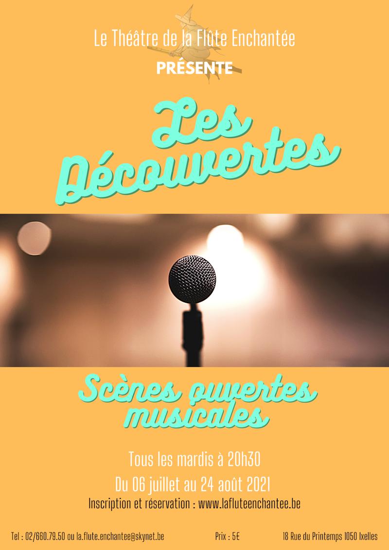 Les Découvertes - scènes ouvertes musicales