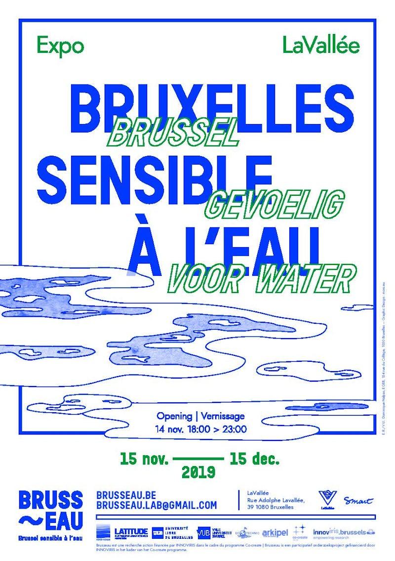 """EXPO """"Bruxelles sensible à l'eau"""""""