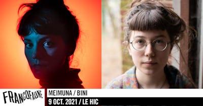 Meimuna • Bini   FrancoFaune 2021