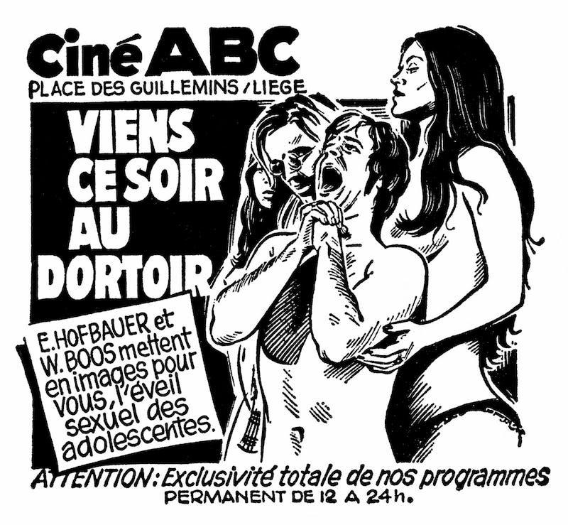 Double Bill : The ABC of Porn Cinema & Drama, the art de Laurent Durieux