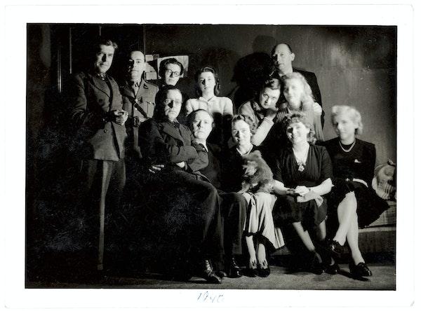 Dotremont et les surréalistes. Une jeunesse en guerre (1940-1948) Coll. Fonds Jacqueline Delcourt-Nonkels, Fondation Roi Baudouin, en dépôt au Musée de la photographie, Charleroi, © Raoul Ubac