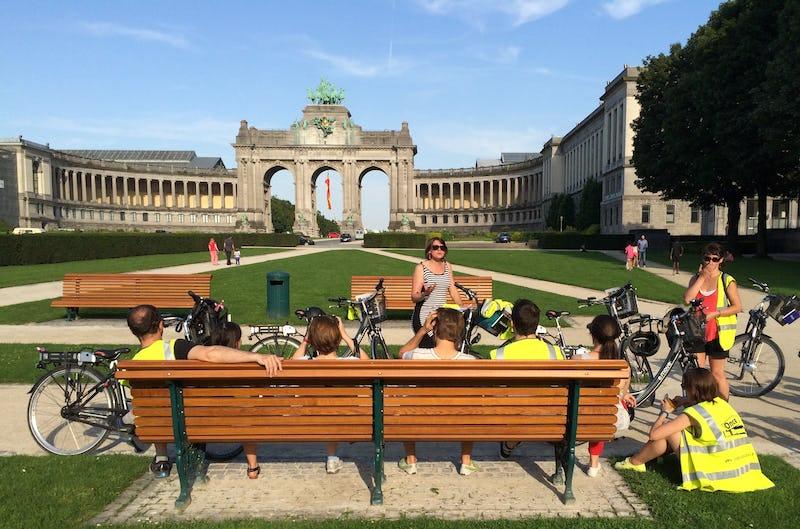 À la découverte d'une capitale toute verte à vélo électrique Once in Brussels