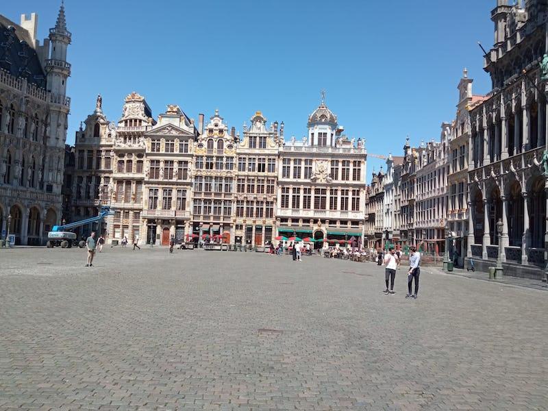 Bruxelles – Il était une fois Bruocsella Grande-Place